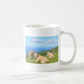 Cattle in the Azores. Coffee Mug