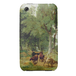 Cattle on a Devonshire Lane iPhone 3 Case-Mate Case