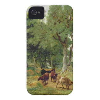 Cattle on a Devonshire Lane iPhone 4 Cover