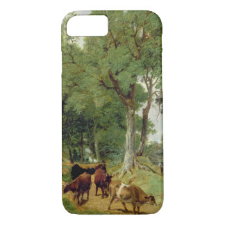 Cattle on a Devonshire Lane iPhone 7 Case