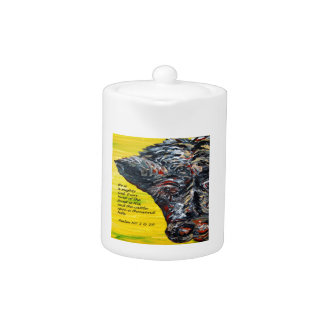 Cattle on a Thousand Hills Teapot