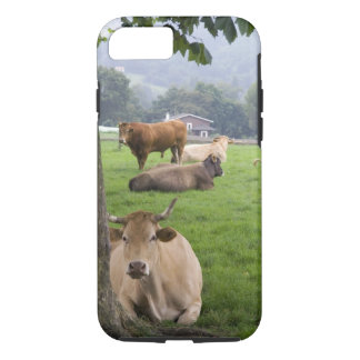 Cattle on rural farmland near the town of iPhone 8/7 case