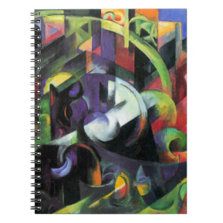 Cattle or Rinder by Franz Marc, Vintage Abstract Notebooks