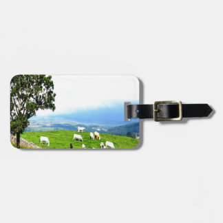 cattle pasture peace joy bag tags