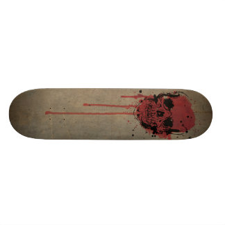 """Cattle pig - Skate cover """"skull """" Skateboards"""