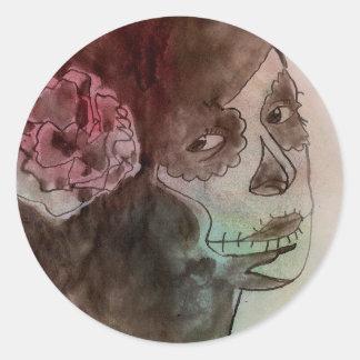 """Cattle pig - Stickers """"dia. de la muerte """""""