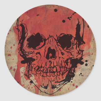 "Cattle pig - Stickers ""Skull """