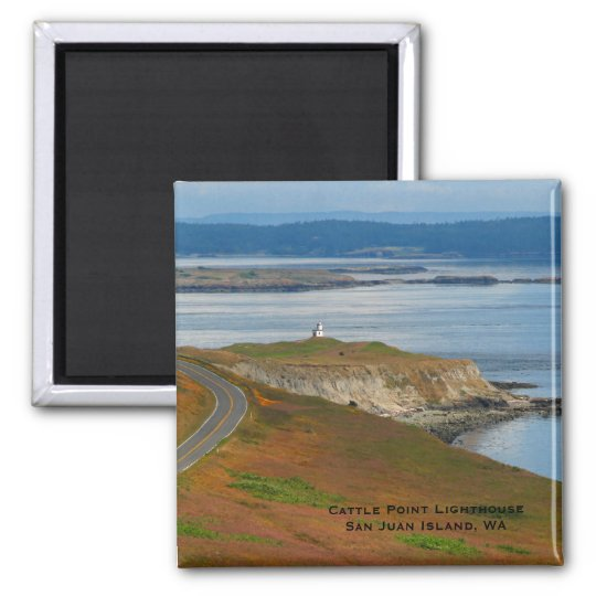 Cattle Point Lighthouse Magnet
