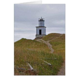 Cattle Point Lighthouse on San Juan Island, WA Card