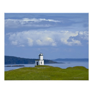 Cattle Point Lighthouse on San Juan Island, WA Posters