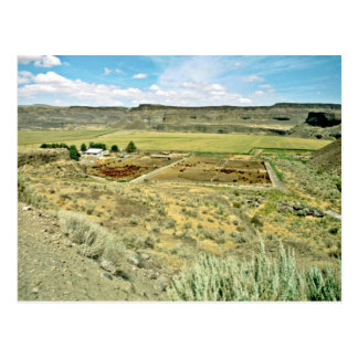 Cattle Ranch Below The Mesas Post Card