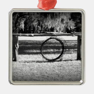 Cattle Ranch Christmas Tree Ornament