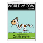 Cattle Snake Greeting Card