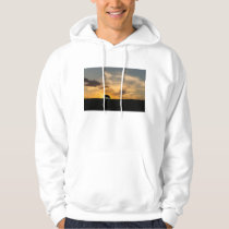 Cattle Sunset Silhouette Hoodie