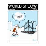Cattlegrid del cielo postal