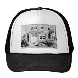 Cattleman s Bar Stockyards Omaha Nebraska Mesh Hats
