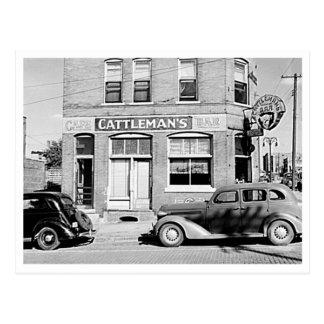 Cattleman's Bar Stockyards Omaha Nebraska Postcard