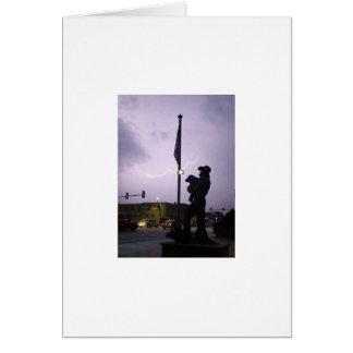 Cattleman's Harvest and summer thunderstorm 2009 Card