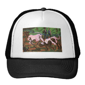 Cattles in the Spring by Ernst Ludwig Kirchner Trucker Hat