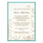 Cattleya Orchid blue - Bridal Shower Invite