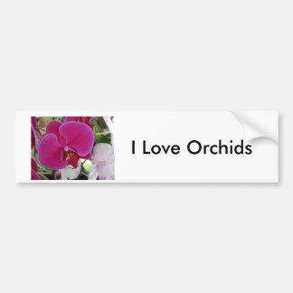 Cattleya Orchid Bumper Sticker