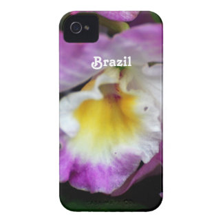 Cattleya Orchid iPhone 4 Cases