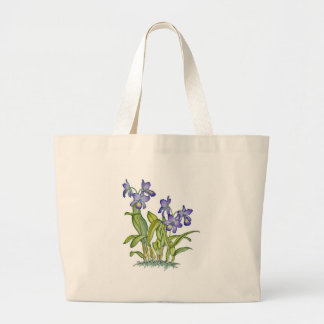 Cattleya Orchid Large Tote Bag