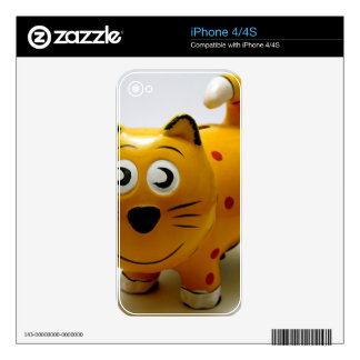 catty bank skin for the iPhone 4