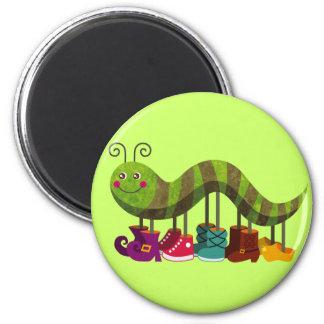 Catty Caterpillar Fridge Magnet