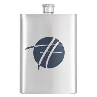 Catty Power Navy Flask