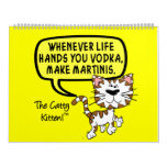 Catty Sarcasm Customizable 2016 12 Month Calendar