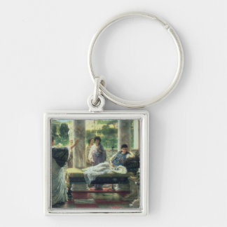 Catullus Reading his Poems at Lesbia's House, 1870 Keychain
