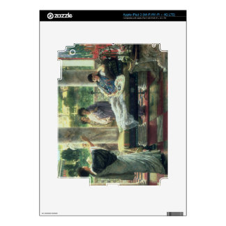 Catullus Reading his Poems at Lesbia's House, 1870 Skin For iPad 3