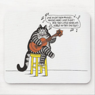 Catunes To Meow Over! Mouse Pads