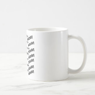 Caturday Everyday Funny Classic White Coffee Mug