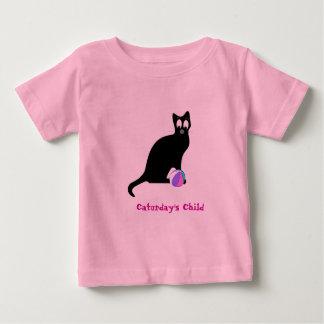 Caturday's Child Baby T-Shirt