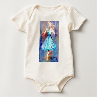 CATWALK CIRCA 1950 BABY BODYSUIT