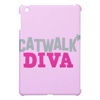 CATWALK DIVA with a cute little star iPad Mini Case