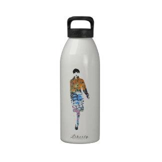 Catwalk Graffiti Model - Design by Dominic Water Bottle