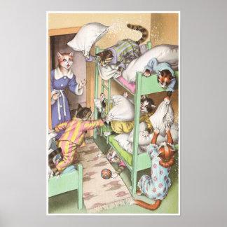 CATWALKS: Pillow Fighting - Poster Art - Semigloss