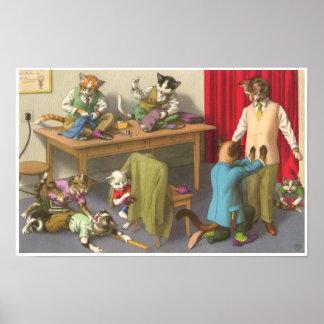 CATWALKS: Tailors Troubles  Poster Art Semigloss