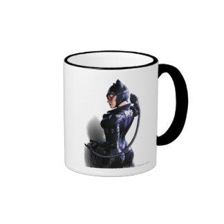Catwoman 2 taza de dos colores
