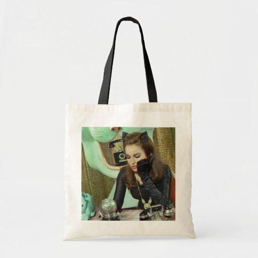 Catwoman Canvas Bag