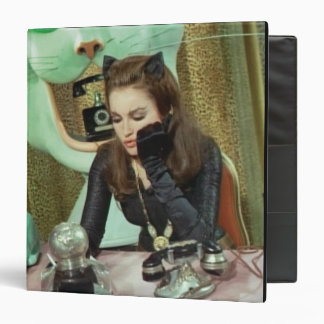 Catwoman 3 Ring Binders