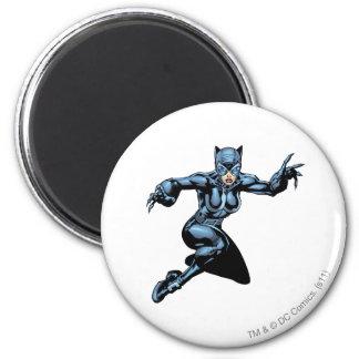 Catwoman con las garras imán redondo 5 cm