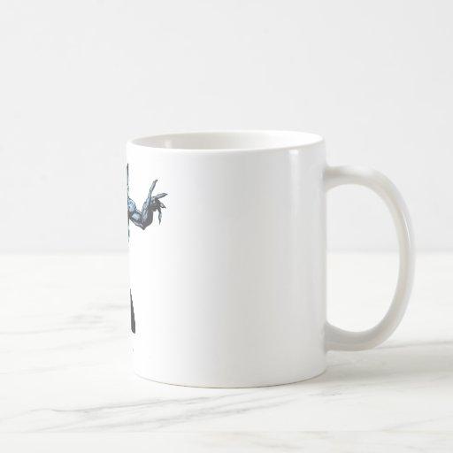 Catwoman con las garras taza de café