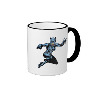 Catwoman con las garras taza a dos colores