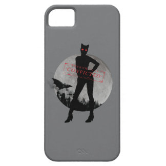 Catwoman Convicted Grey iPhone SE/5/5s Case