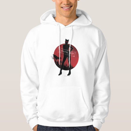 Catwoman Convicted White Hoodie