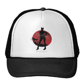 Catwoman Convicted White Trucker Hat